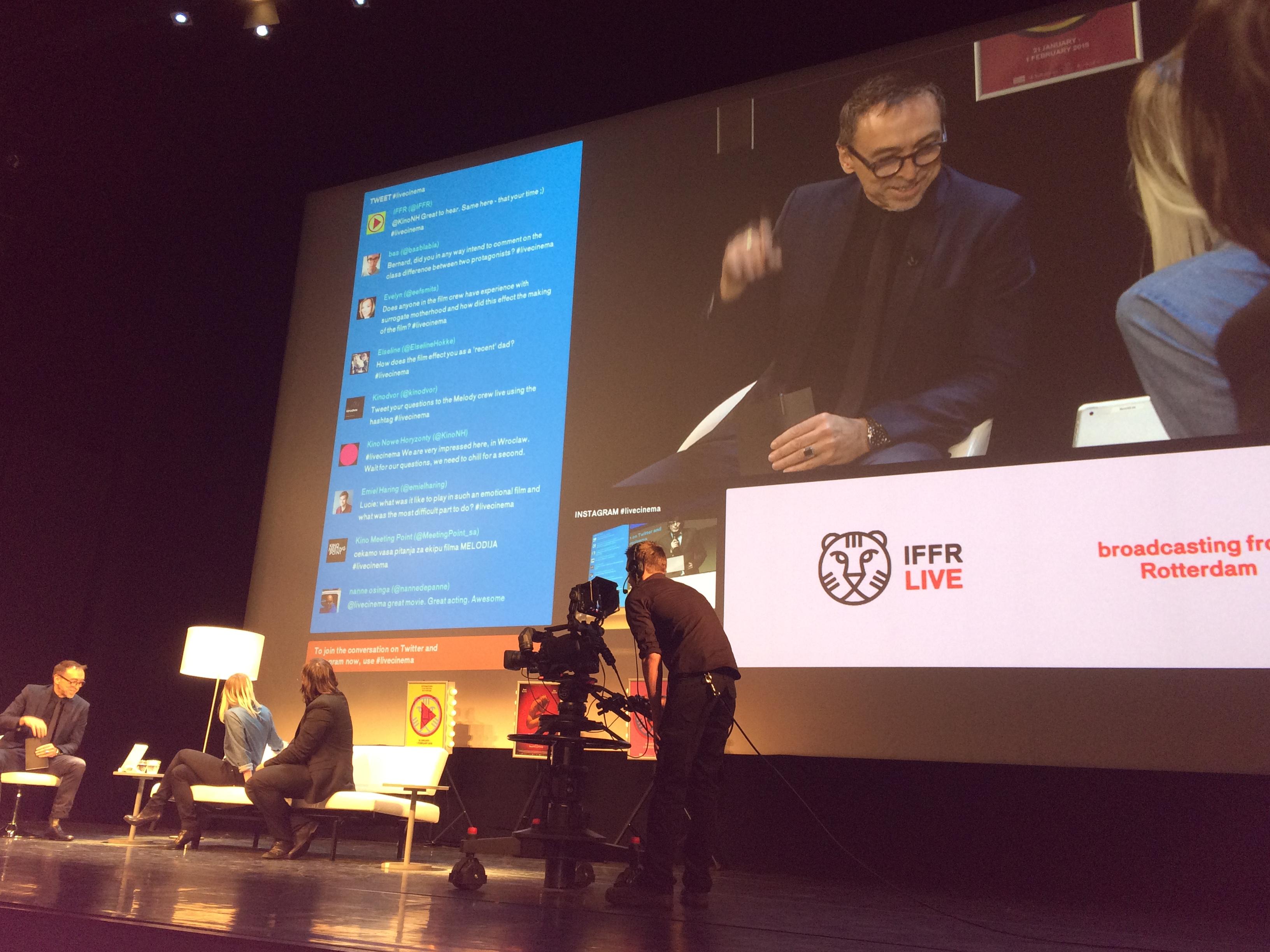 Social media at International Film Festival Rotterdam 2015