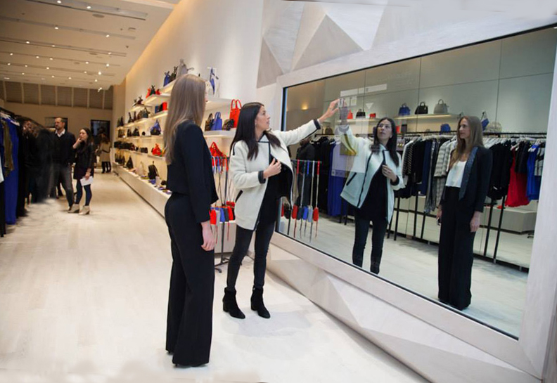 Designer Boutiques vs Online Shopping Experience. The Future of Retail Shopping is in a Digitally 'Connected Store'