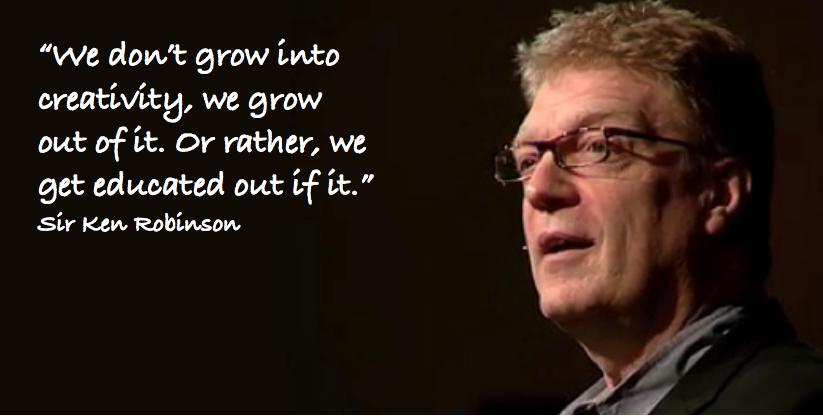 "Sir Ken Robinson at ""Leading a Culture of Innovation"""