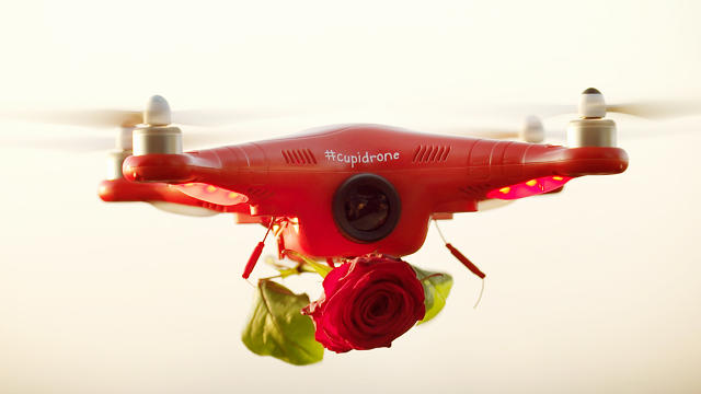 #Cupiddrone is in the air!