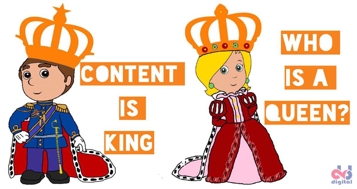 If Content is King, Who Is A Queen?