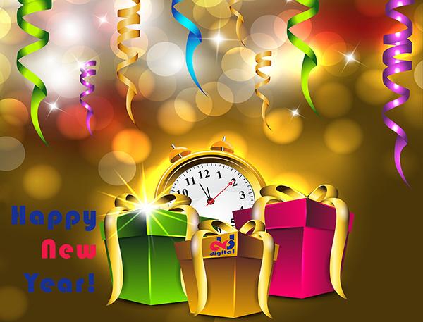 Happy New Year! Gelukkig Nieuwjaar!