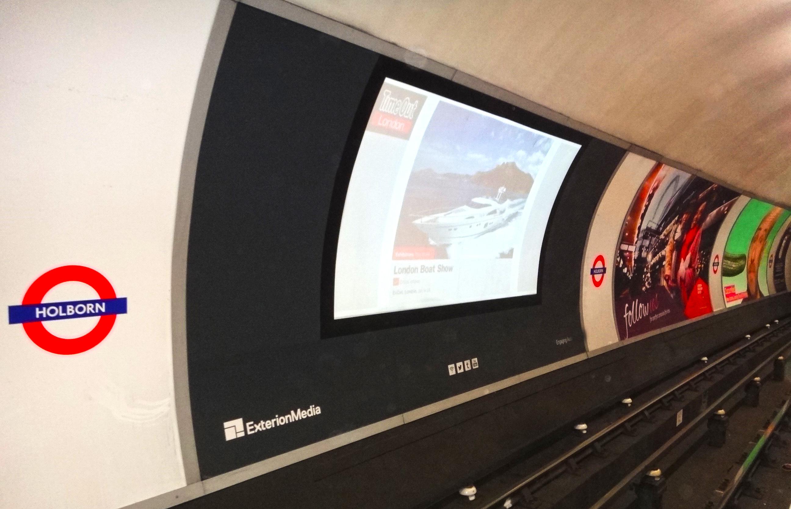 Digital Cross Track Projections (XTPs) in London's Tube