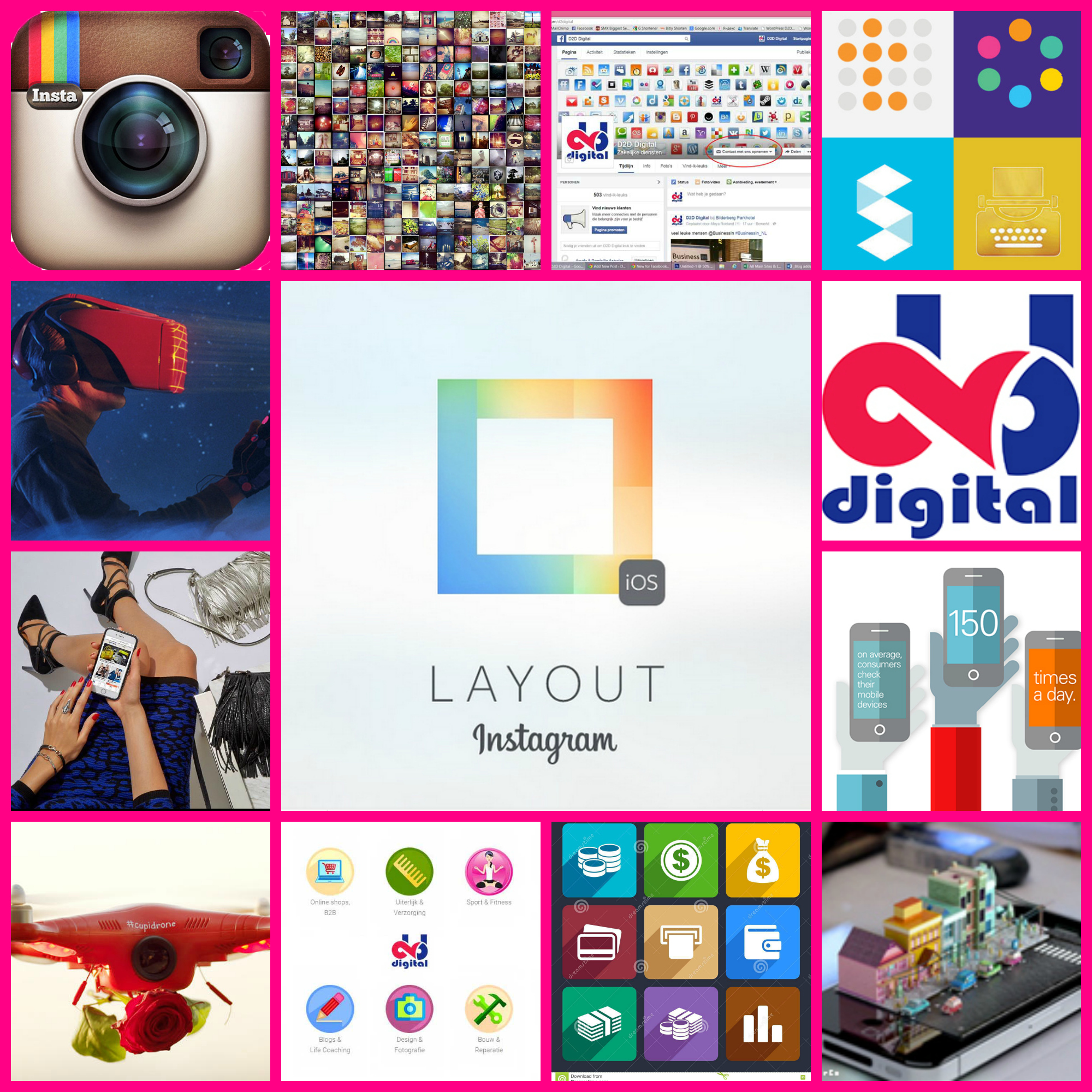 A new iOS app from Instagram – Layout