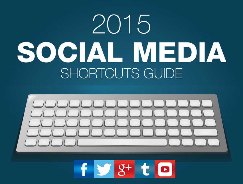 Social Media Keyboard Shortcuts – Infographic