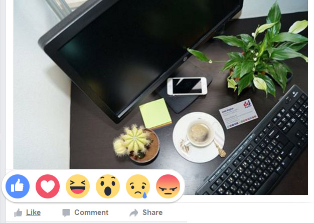 Facebook Has Rolled Out 5 New Reactions Buttons